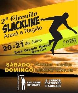 circuito slackline araxa minas gerais 252x300 - 2º Circuito de Slackline - Araxá e região