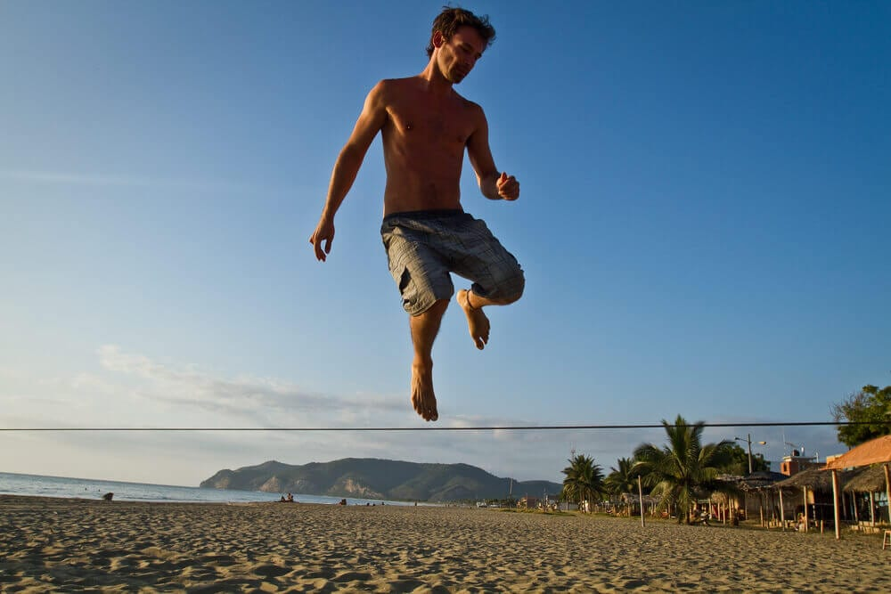 3 beneficios musculares gerados pela pratica de slackline - 3 benefícios musculares gerados pela prática de slackline