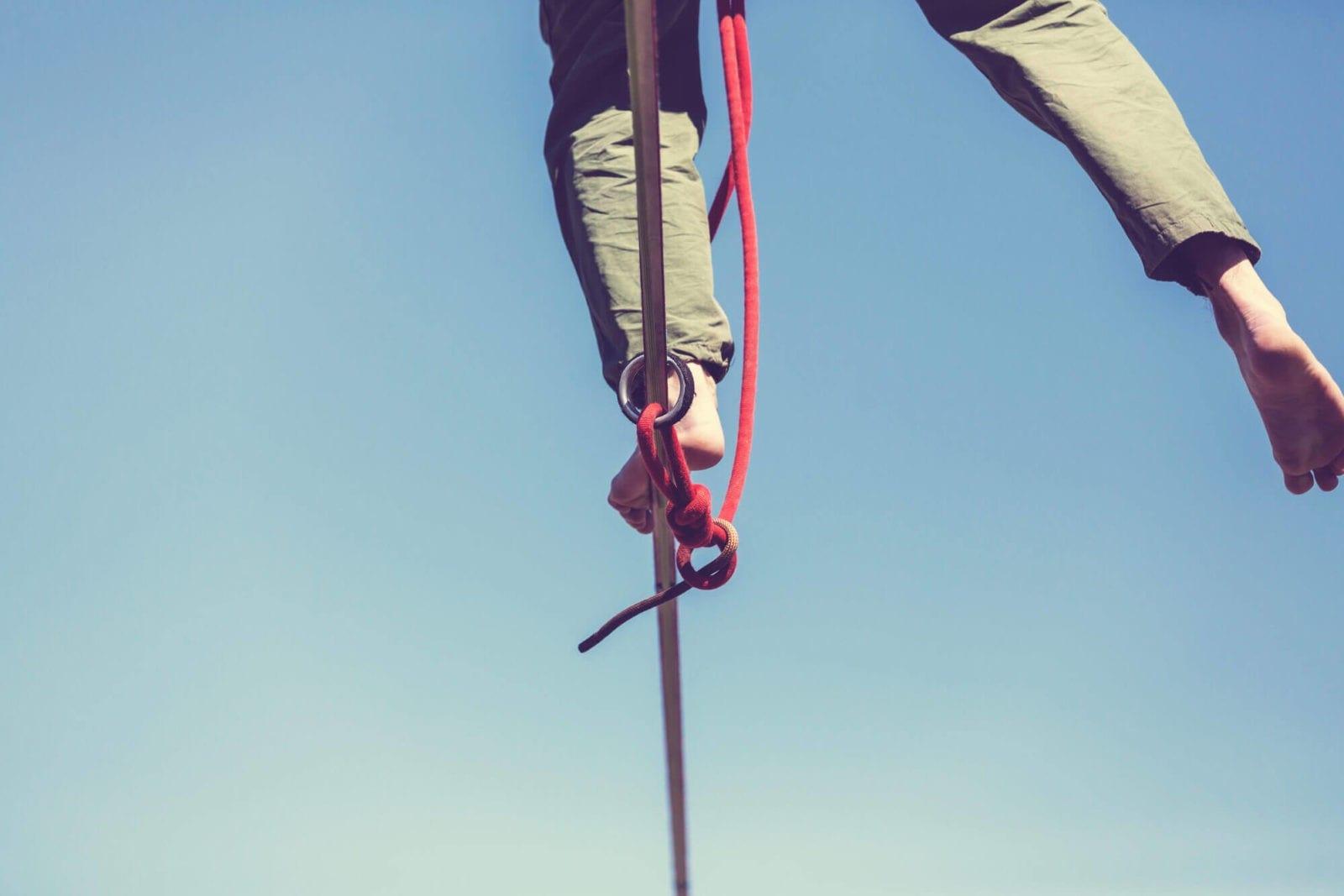Entenda como o slackline auxilia na prática de outros esportes