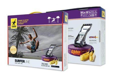 Kit de Slackline Gibbon Surfer Line - Caixa