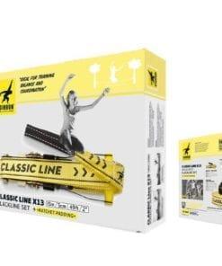 Kit Slackline para Iniciantes Gibbon Classic Line X13 15 metros - Caixa