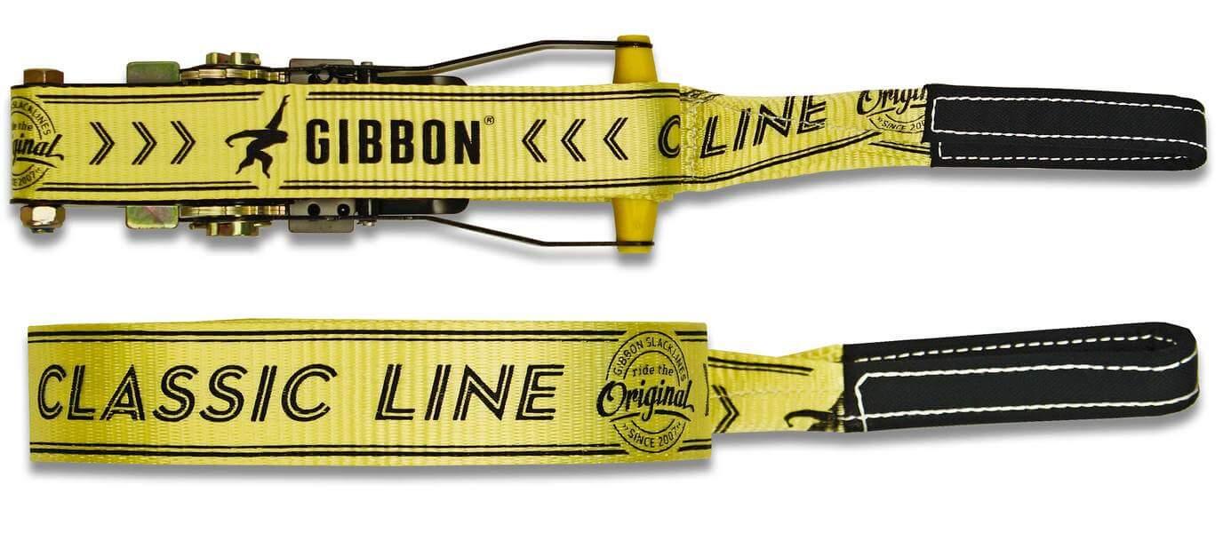 Fita - Kit Slackline para Iniciantes Gibbon Classic Line X13 15 metros