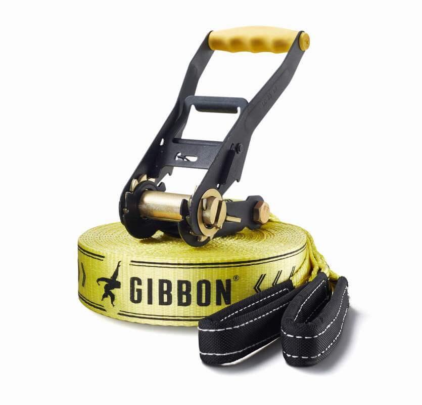 Kit Slackline para Iniciantes Gibbon Classic Line X13 15 metros