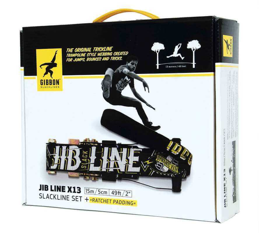 Kit Slackline Jib Line X13 Gibbon 15 metros - Caixa