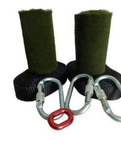 Kit Slackline Longline Wave Yoga Balance 30 metros - Ancoragem